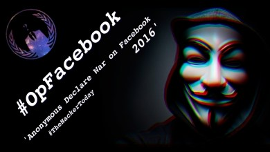 Photo of Anonymous Declare War on Facebook! (2016)