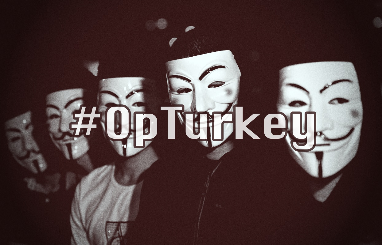 Anonymous Hackers Took Down 400,000 Turkey Sites