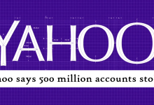 Yahoo says 500 million accounts stolen
