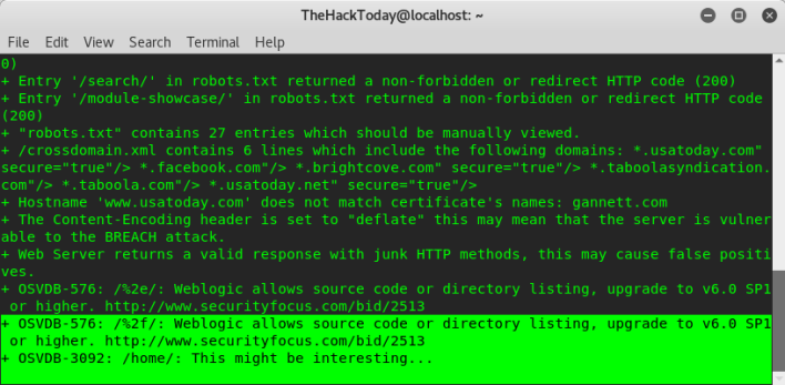 How to Find Website Vulnerabilities Using Nikto on Kali Linux