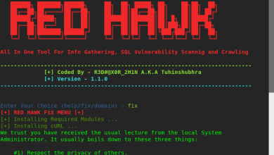 Photo of How to do Reconnaissance and Vulnerability Scan Using Red Hawk
