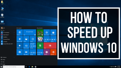 These Are The 5 Tips to Speed up your Windows 10