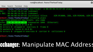 Photo of Macchanger – Manipulate MAC Address of Your Kali Linux