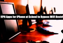 5 Best VPN Apps for iPhone at School to Bypass WiFi Restrictions