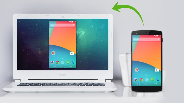 Mirror Your Android Mobile Screen to PC