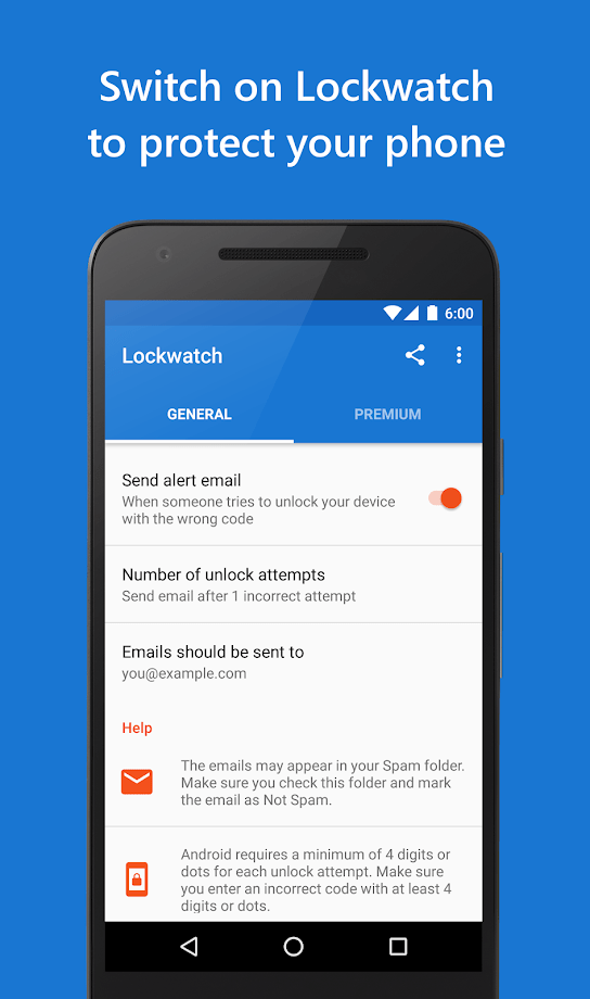 Lockwatch - Thief Catcher