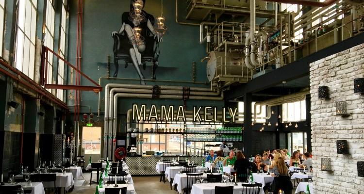 MaMa Kelly Den Haag | Oude fabriekshal vol kip & kreeft