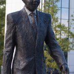 NELSON MANDELA STATUE UNVEILED -THE HAGUE