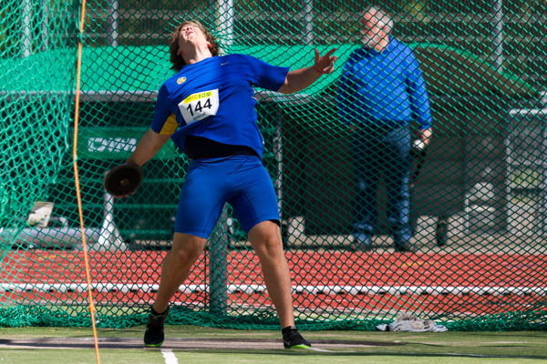 Athlete - Mens Discus (discuswerpen). Nederlands Kampioenschap Teams Senioren 2013