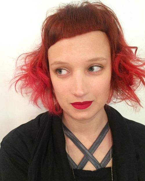 30 really cool short red hairstyles and haircuts