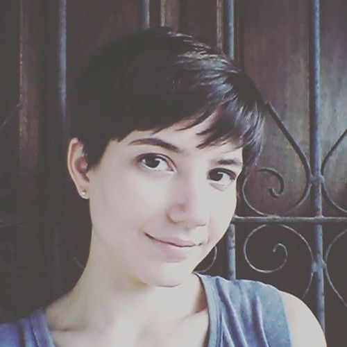 Usual Black Pixie with Straight Bangs