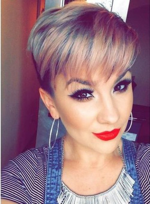 30+ Short Hairstyles and Haircuts with Bangs