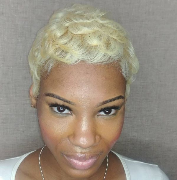 Beautiful short cuts for black females 4