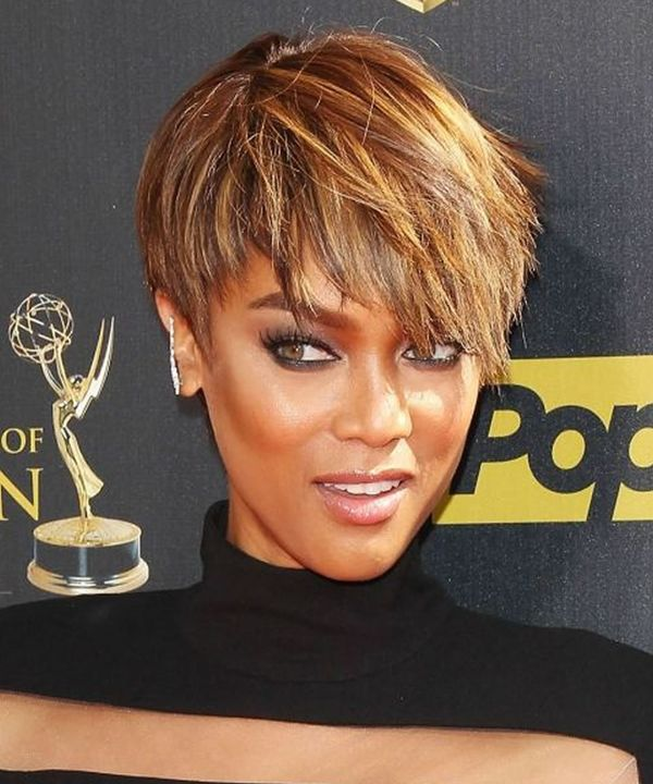 Messy short hairstyles for black women 4