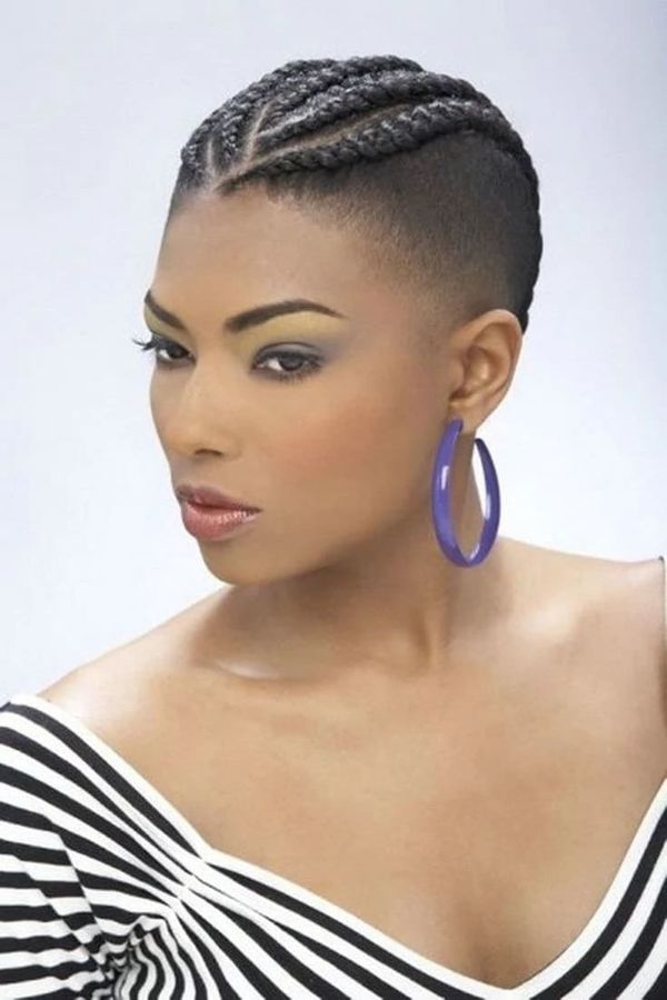 Sexy hairstyles for black girls with short hair 1