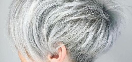 Short Silver Pixie Cuts 2