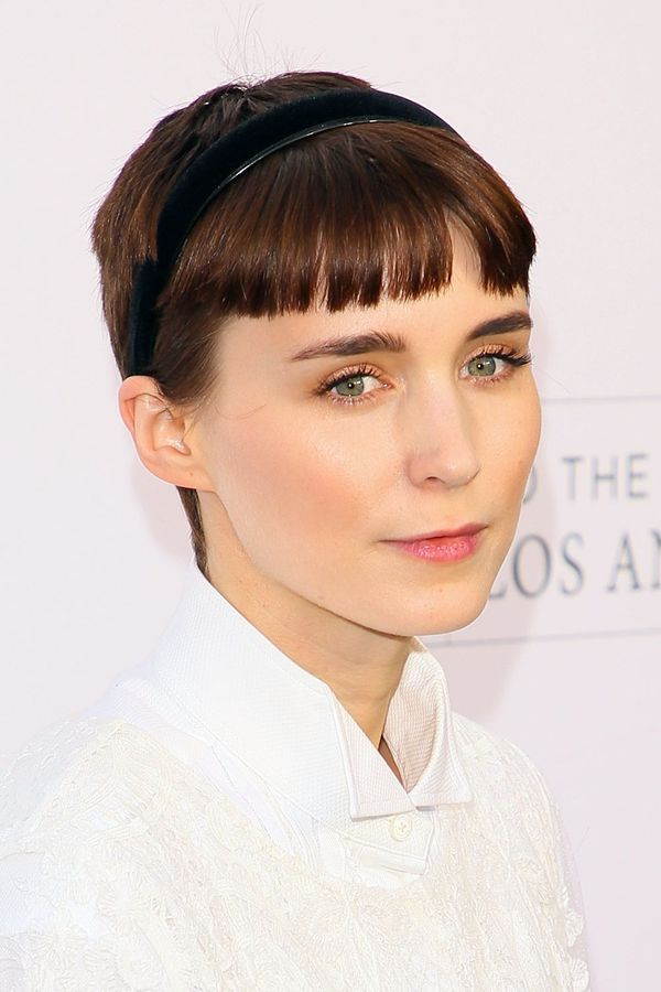 Ways to Style Short Hair with Bangs 3