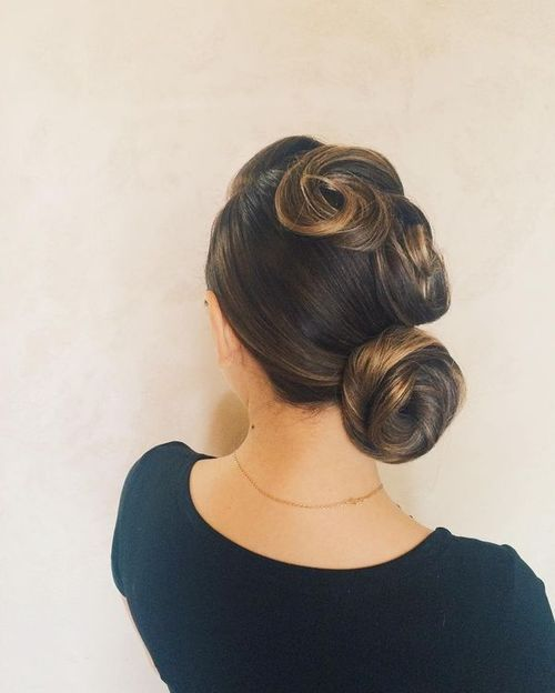 60 Easy Updos For Medium Length Hair