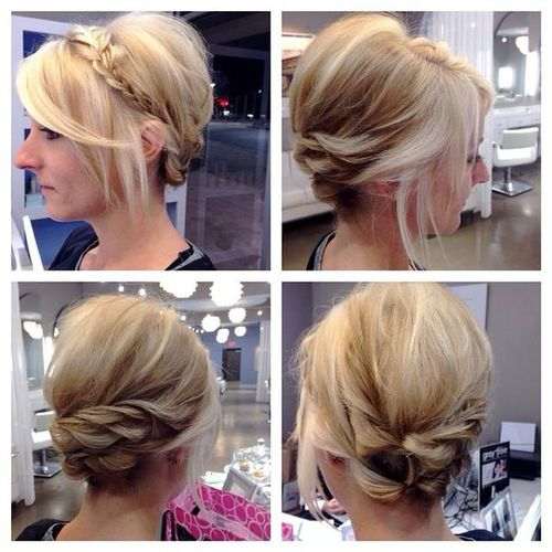 Updos for Medium Short Hair