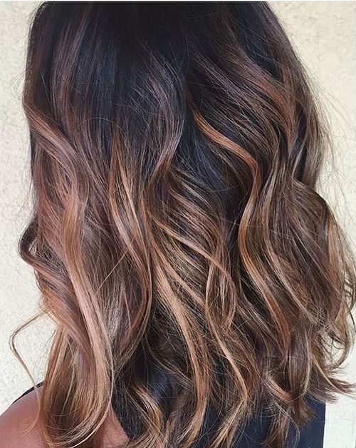 Ashen light brown ombre