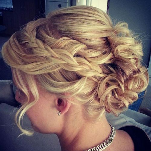 Admirable french braid hairstyle