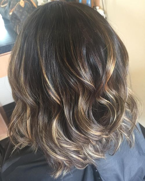Excellent long layered bob hairstyle