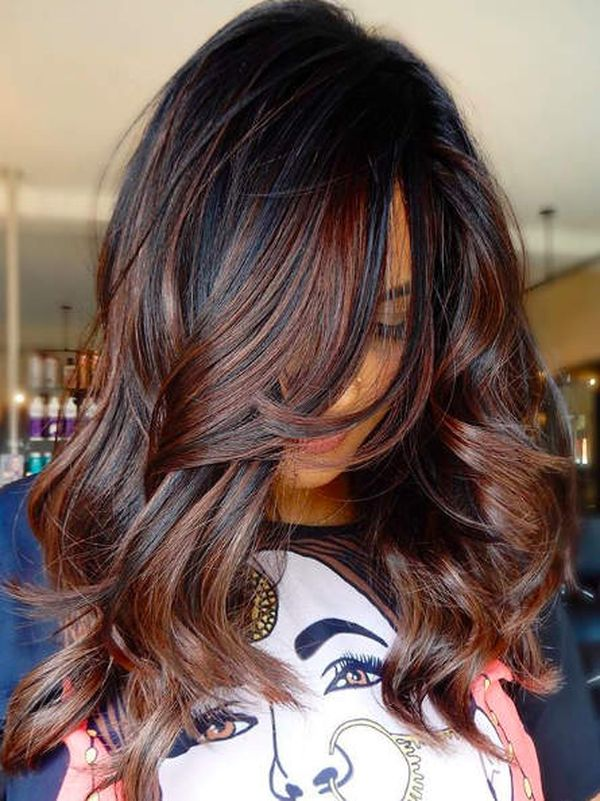 Ombré Colored Hair for a Perfect Fall Ombré Look 1