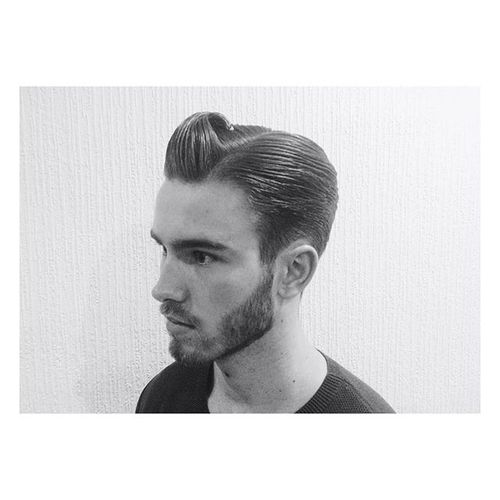 Side Part Tapering