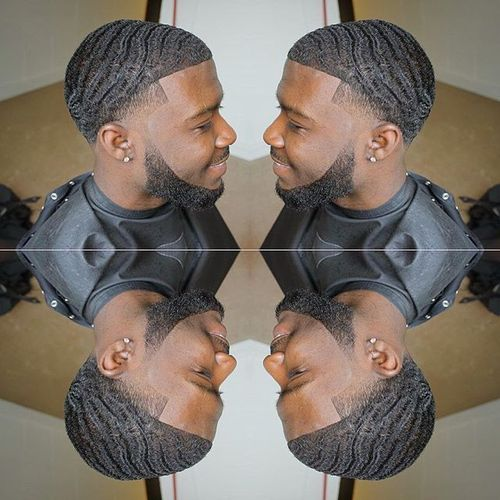 Dark Caesar Haircut Styles for Black men 1