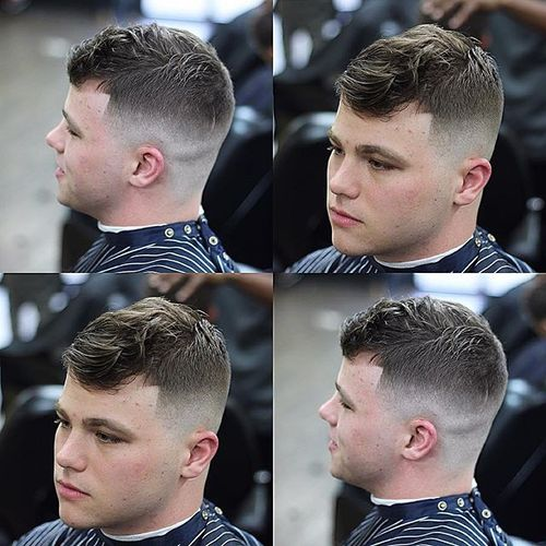 Trendy Men's Caesar Cut Hairstyle 2