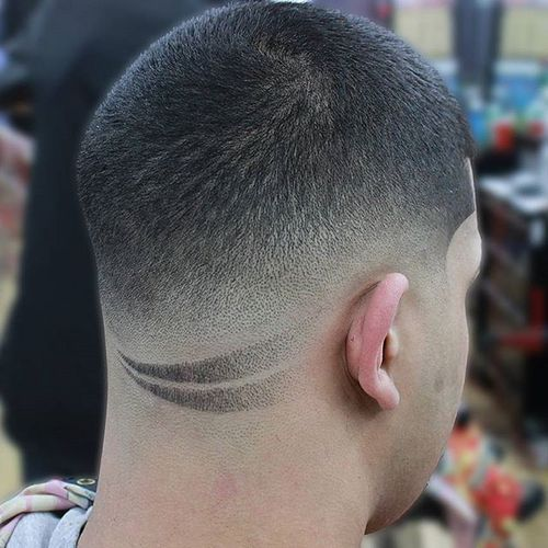 Best Men's Buzz Cuts With Detail To Try 1