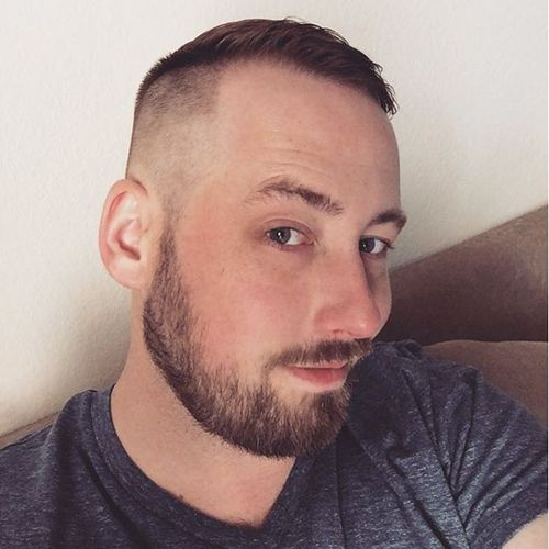 Side-Swept High and Tight Style