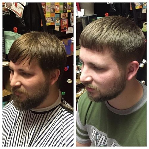 Modern Caesar Haircut Ideas 2