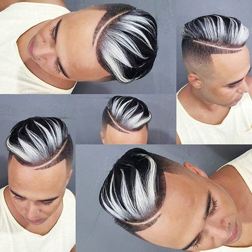 Attractive Dyed Pomp