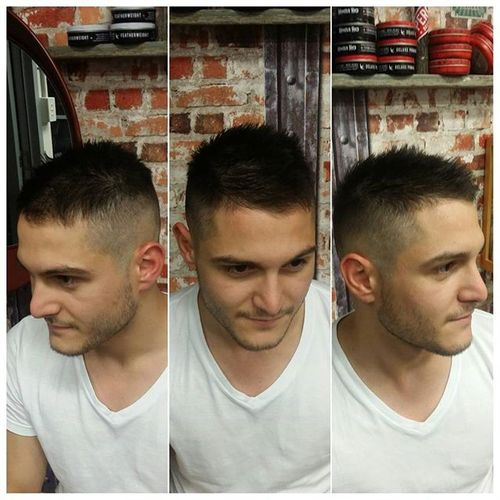 Spiky High and Tight Cut