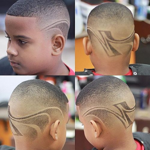 Creative Buzz Cuts With Art Design 1