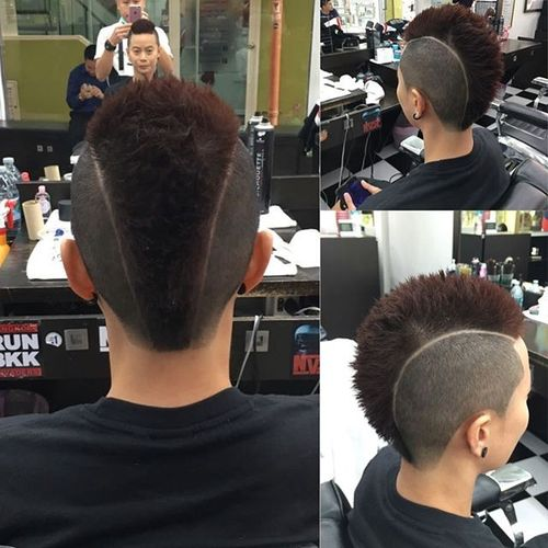 Mohawk Hairstyle for Asian Men