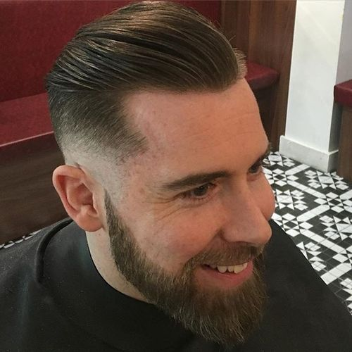 Slick Undercut for Balding Men
