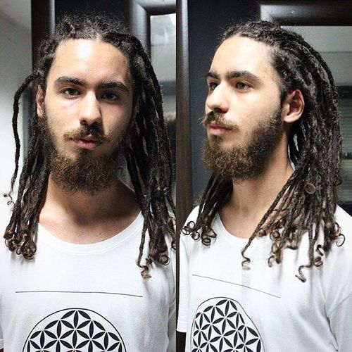 Best Medium Dreadlocks Styles 2
