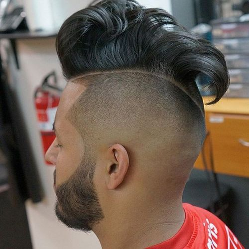 Hawk Undercut with High Fade