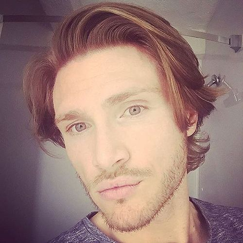 Long Natural Male Waves