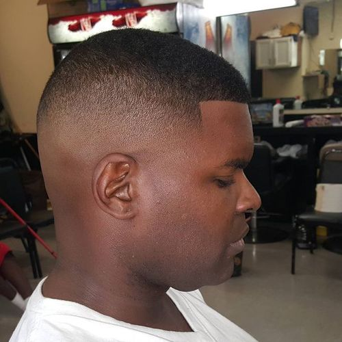 Taper Fade Short Hair