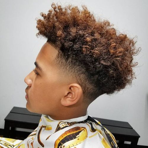 nappy hair styles for guys taper fade haircut styles for black 1751