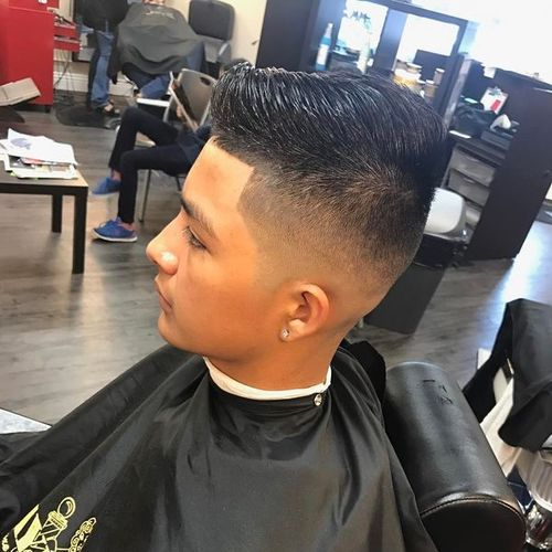 fade taper haircut styles