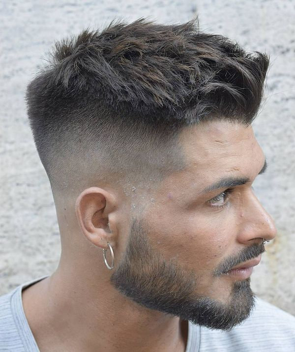 Inspiring Long Crew Cut Ideas for Men 3