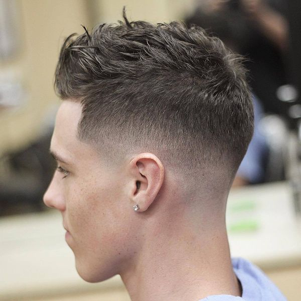 Messy Crew Cut Hairstyles 3