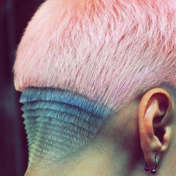 Cool female hairstyles with undercut designs 2