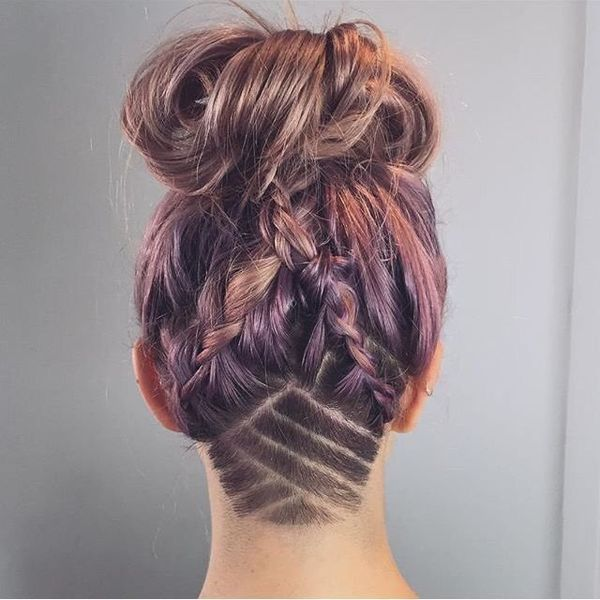 40 Awesome Undercut Hairstyles For Women July 2019
