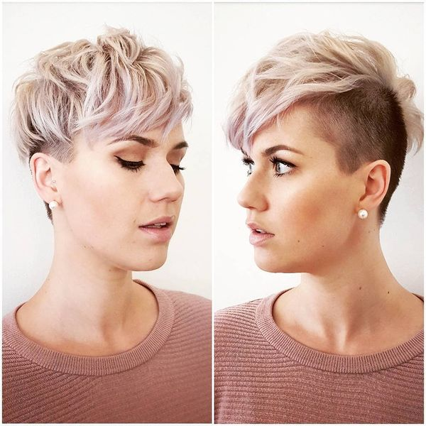 Trendy short undercut haircuts for women 2