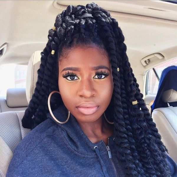 Top 50 Crochet Braid Hairstyles In 2018